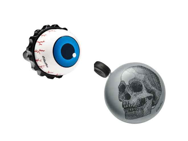Eyeball Twister Bell and Skull Domed Ringer Bell