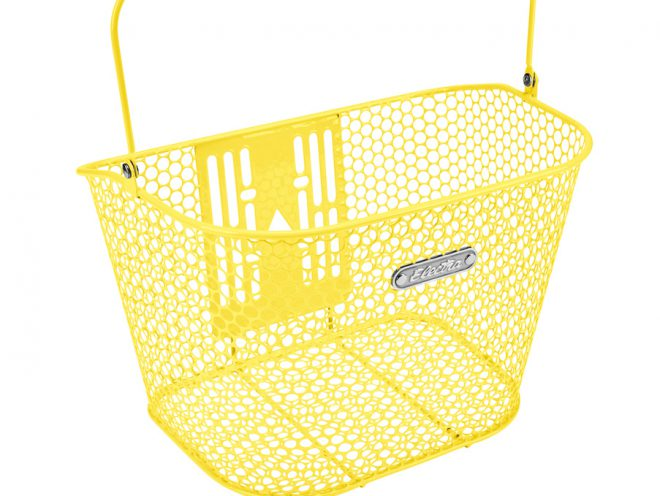 Honeycomb Front QR Basket Pineapple
